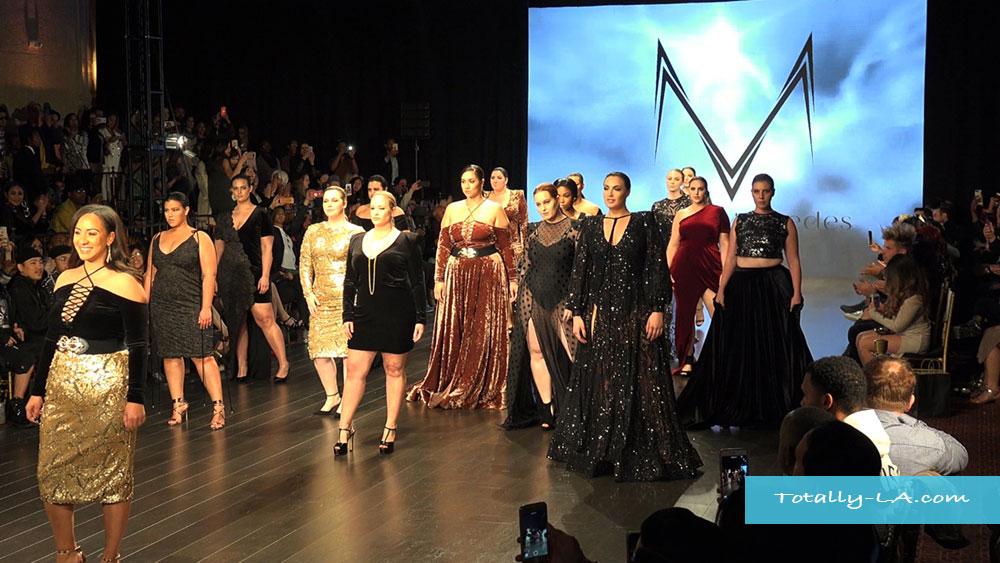 Art Hearts Fashion Lafw Melissa Mercedes On The Runway Totally La